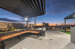 Rooftop BBQ Area