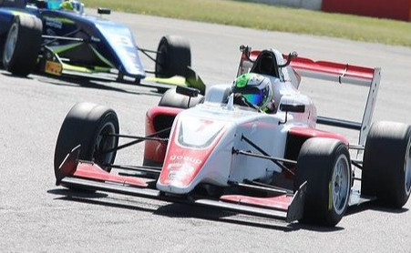 British F3 | The Cars Start to Hit the Track at Donington