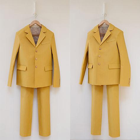 Hamish Pringle 'Sandpaper Suit'  2008 3M