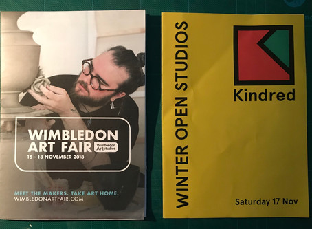 Wimbledon and Kindred Open Studios - is there anover-supply of artists?