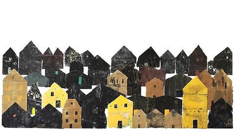 Hamish Pringle 'Sandpaper Town' 2020.  S