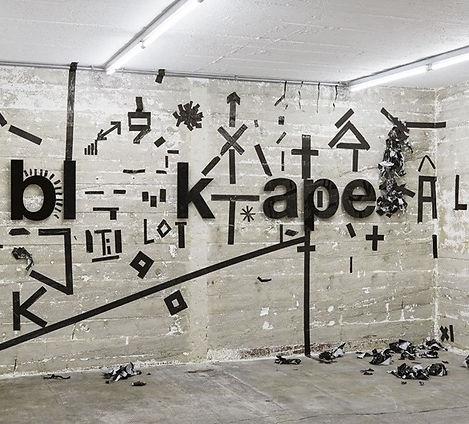Johannes Wohnseifer,'Black Tape', 2017