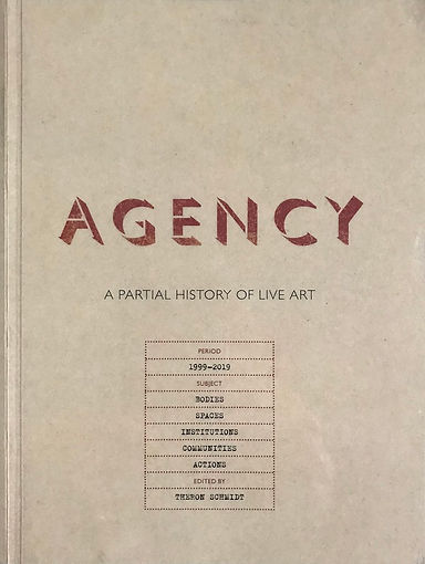 'Agency' book cover IMG_5532.jpg