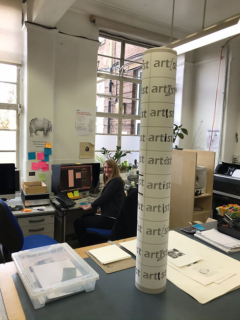 Charlotte Brown and 'art st' column 12.1