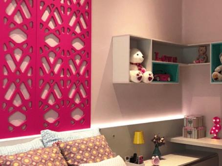 10 ideias criativas de decoração com revestimentos da Mentha para você decorar o quarto das crianças