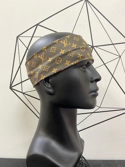 LV inspired headband