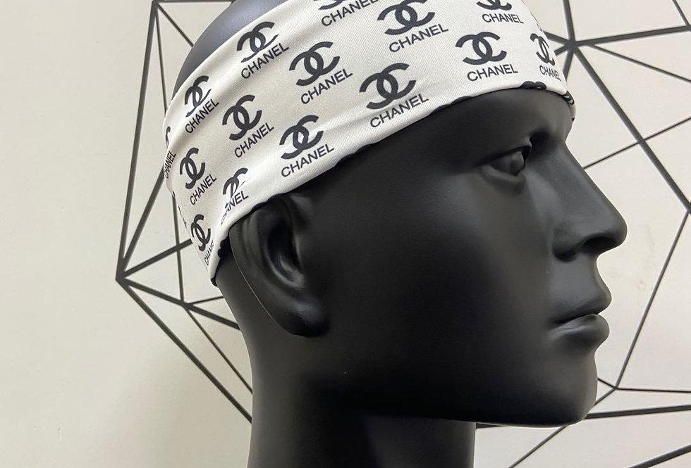Chanel inspired Headband