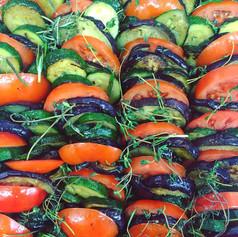 Tian de légumes provencaux