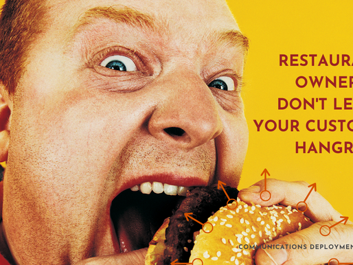 Restaurant owners don't leave your customers hangry.