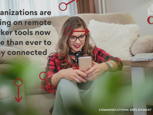 Organizations are relying on remote worker tools now more than ever to stay connected.