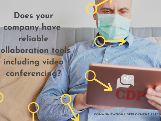 Does your company have reliable collaboration tools including video conferencing?