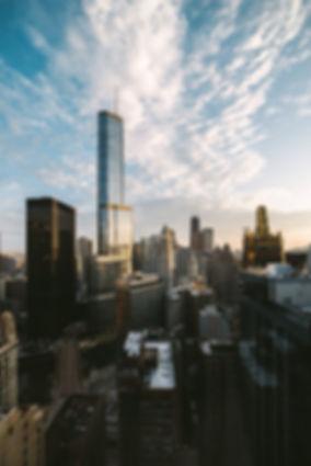 city skyline telecommunications