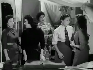Lesbian subtext in al-Tariq al-Masdud (1958)