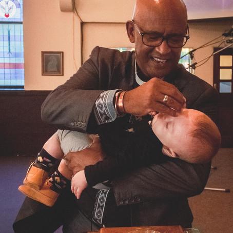 Baby Nathans' Baptism