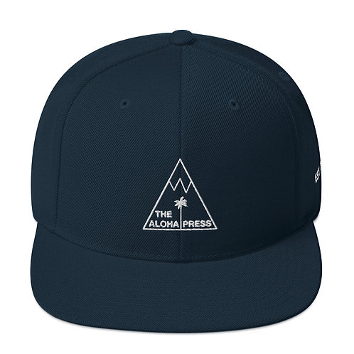 The Aloha Press Flat bill Snapback Hat