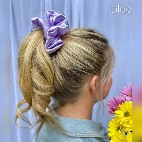 Lilac large Silky Scrunchie