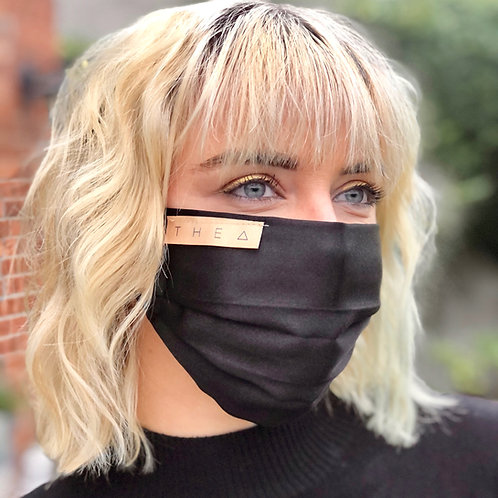 100% Silk Black
