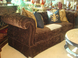Sofa with Rolled Arm
