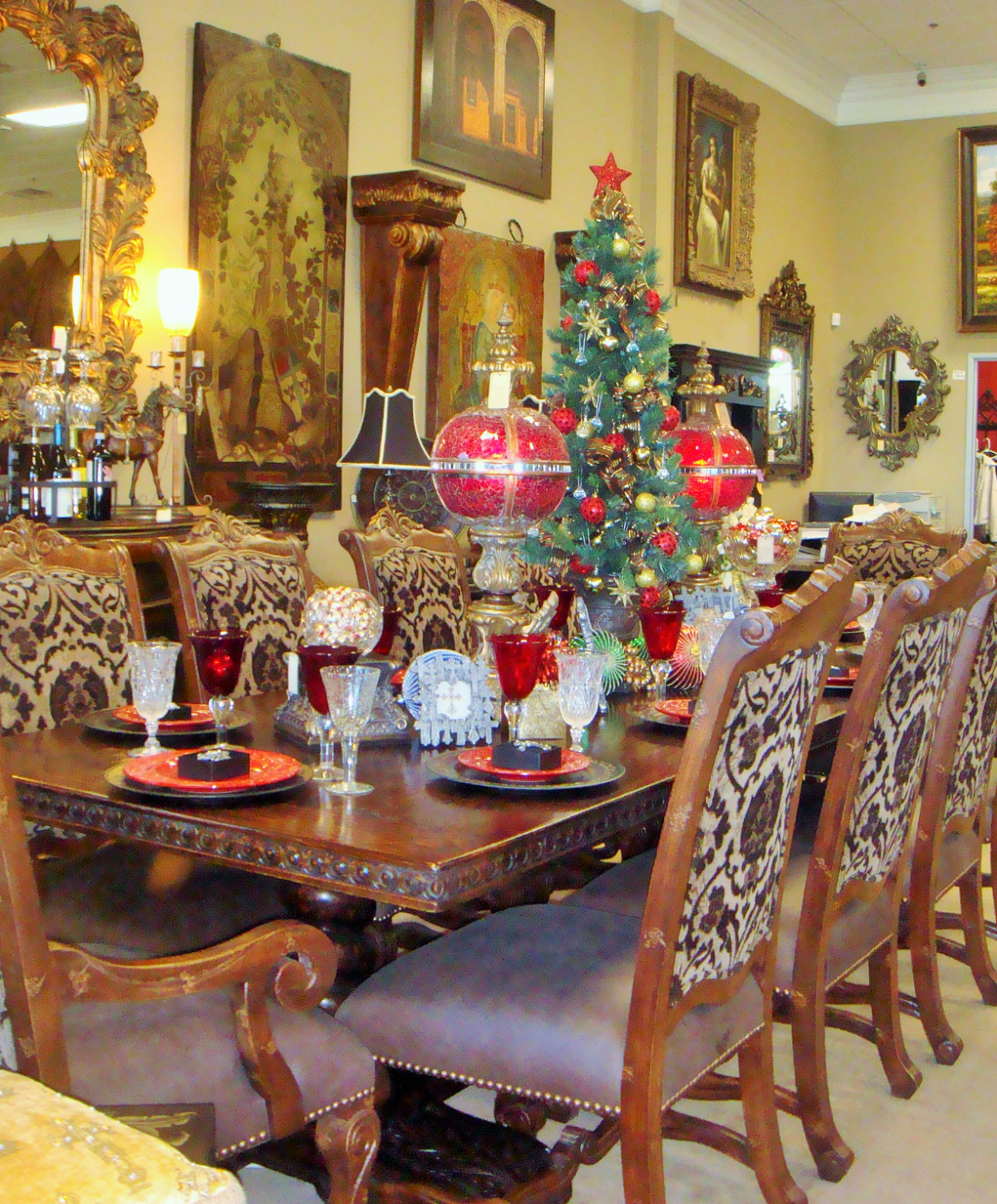 Dining at Christmas