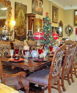 Dining at Christmas