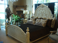 Ornate Bed