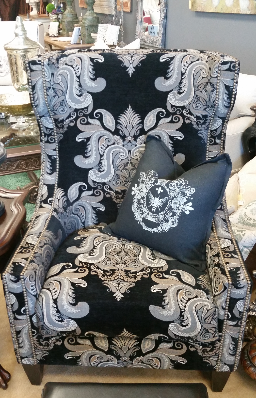 Custom Accent Chair