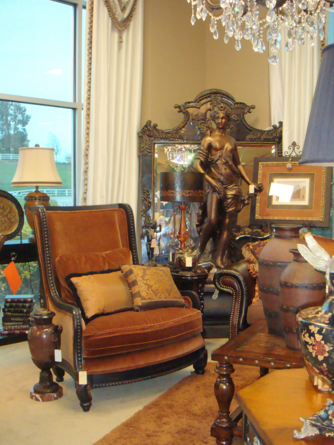 Accent Chair and accessories