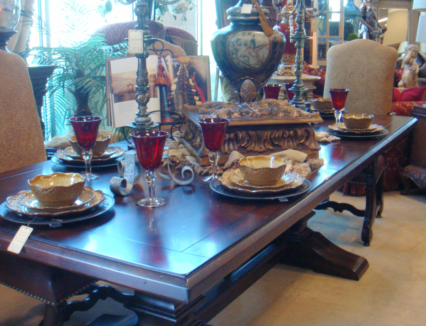 Dining Table and Tableware
