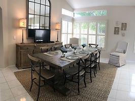 Living Room Furniture, Custom Window Treatments, Interior Design created by Design House Furniture in Murrieta, California
