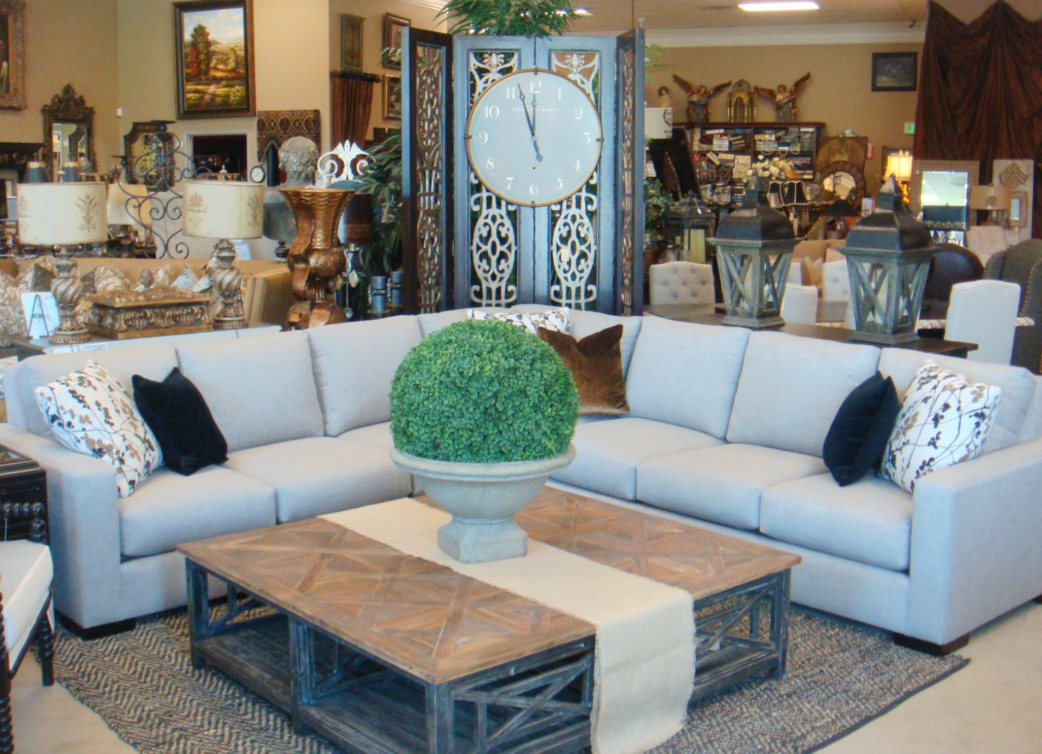 Large Custom Sectional