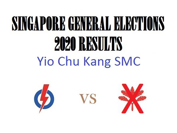 Result of GE2020 for Yio Chu Kang SMC