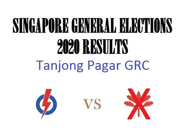 Result of GE2020 for Tanjong Pagar GRC