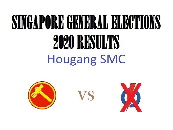Result of GE2020 for Hougang SMC