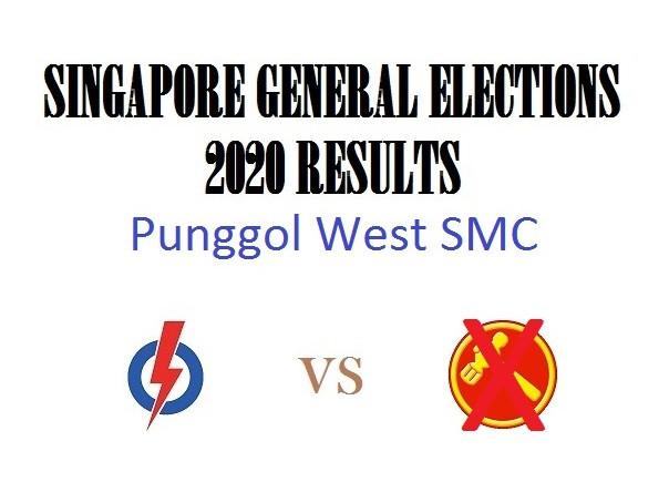 Result of GE2020 for Punggol West SMC