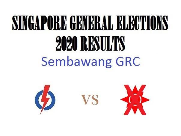 Result of GE2020 for Sembawang GRC