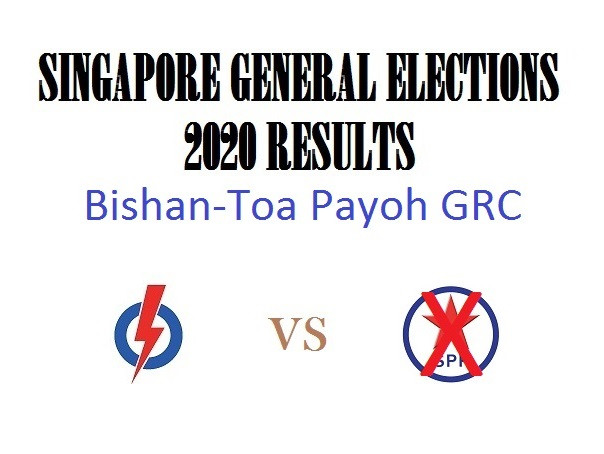 Result of GE2020 for Bishan-Toa Payoh GRC