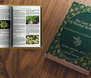 Lost Book of Remedies - medicinal plants