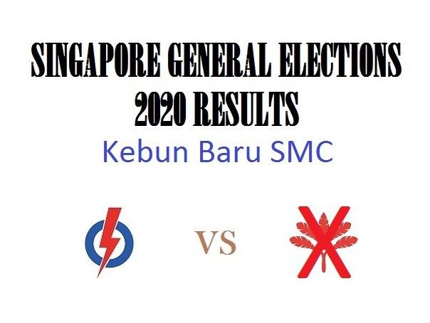 Result of GE2020 for Kebun Baru SMC
