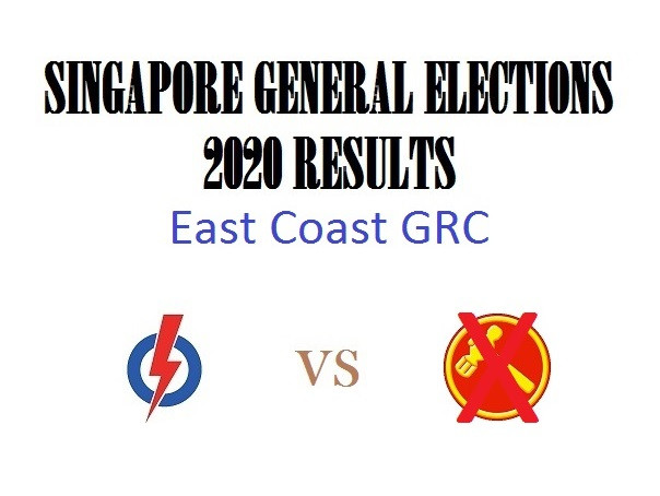 Result of GE2020 for East Coast GRC