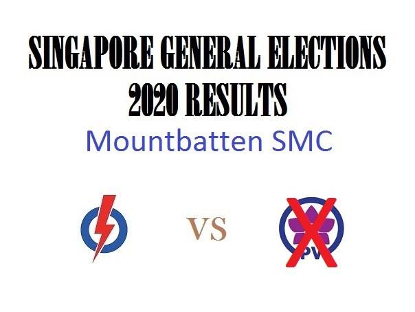 Result of GE2020 for Mountbatten SMC