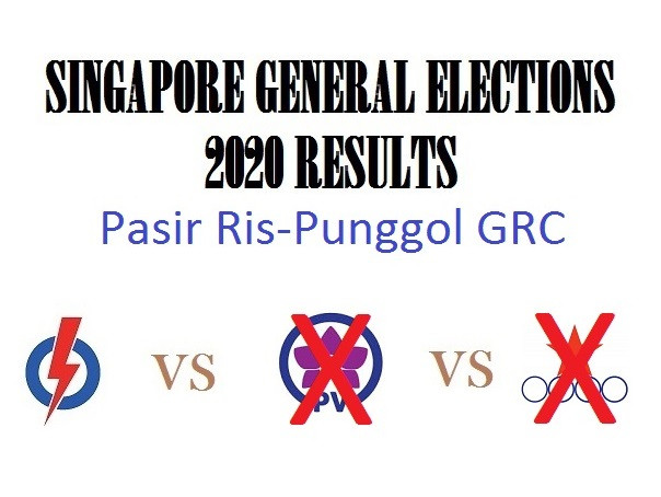 Result of GE2020 for Pasir Ris-Punggol GRC