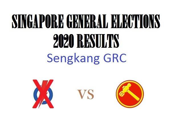 Result of GE2020 for Sengkang West GRC