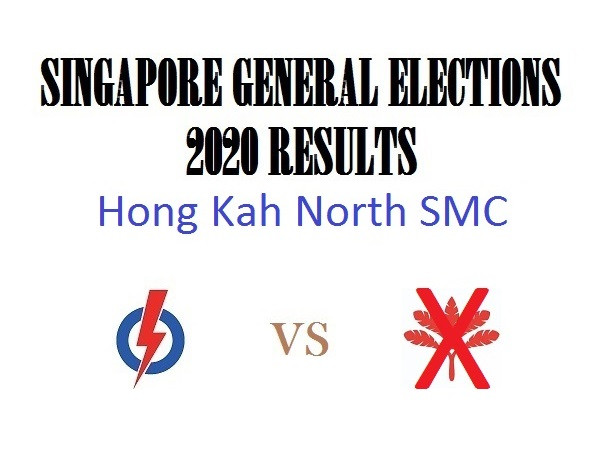 Result of GE2020 for Hong Kah North SMC