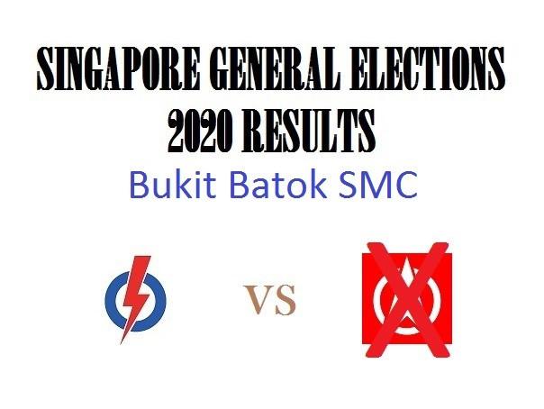 Result of GE2020 for Bukit Batok SMC
