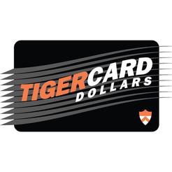 Princeton University Tiger Card