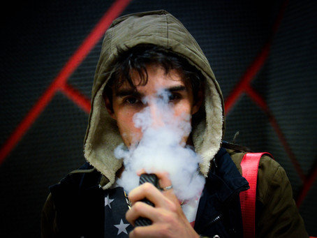 Desperate for Attention and Dying: Advertising, vaping and the insidious wish to belong