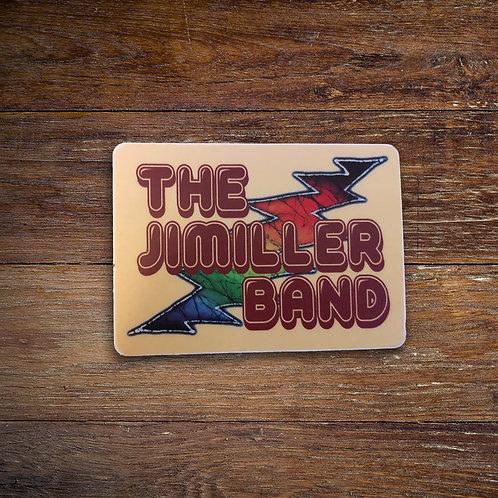 JiMiller Band Bolt Sticker