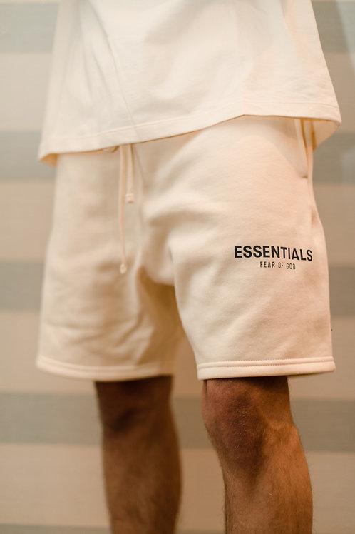 Essentials x Fear of God Sweat Shorts 'Cream'