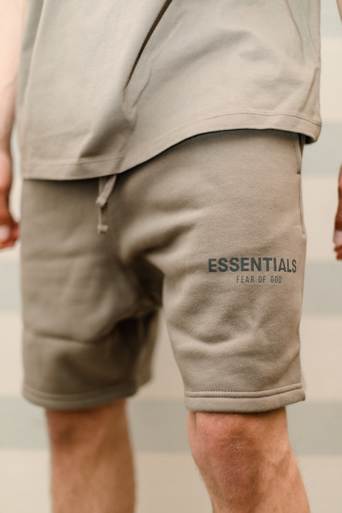 Essentials x Fear of God Sweat Shorts 'Taupe'