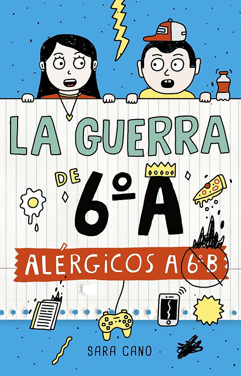 ALÉRGICOS A 6° B. Libro 1